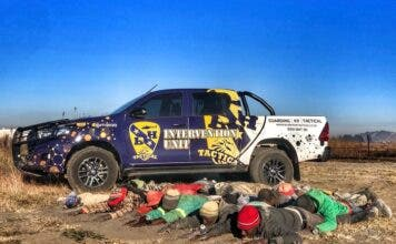 blue hawk tactical south africa illegal mining