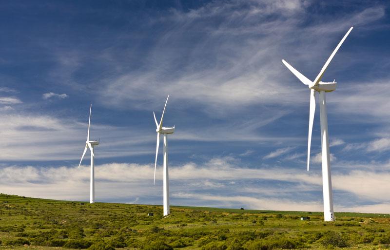 wind farm darling western cape south africa
