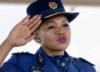 bonang mgwenya south africa police