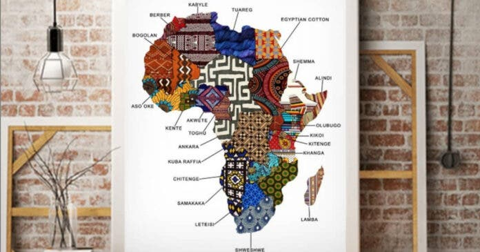 fabric-map-of-africa