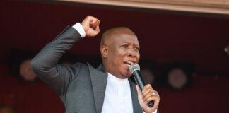 "EFF leader Julius Malema: ""We are going to Senekal."""