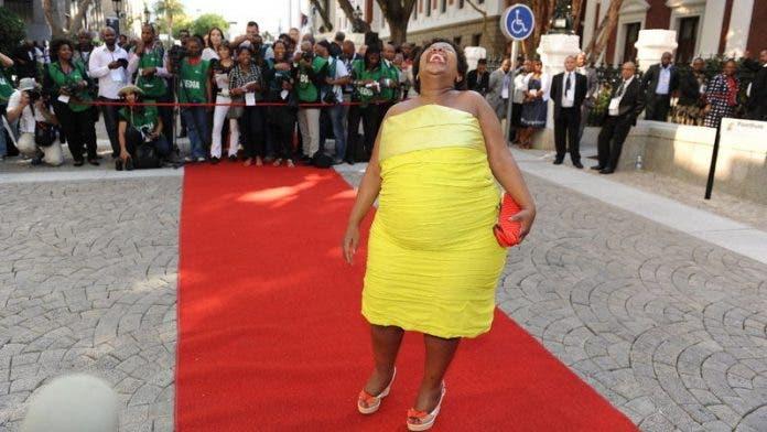 thandile sunduza parliament opening south africa 2014