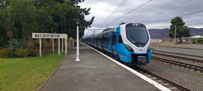 metrorail south africa matjiesfontein