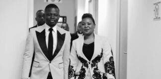 Prophet Shepherd Bushiri and wife
