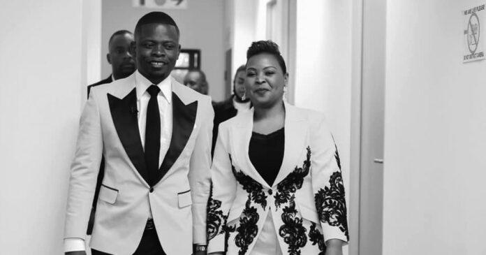 Prophet Shepherd Bushiri and wife