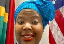 Thandile Sunduza, Consul General in Los Angeles. Photo: Twitter/Thandile Sunduza