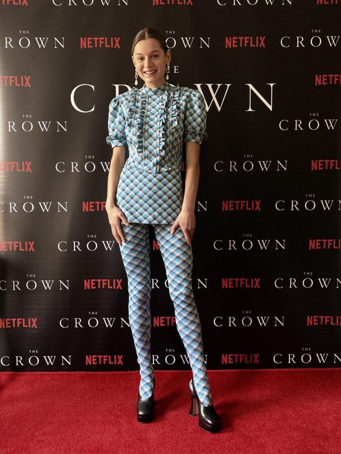 The Crown princess diana actress