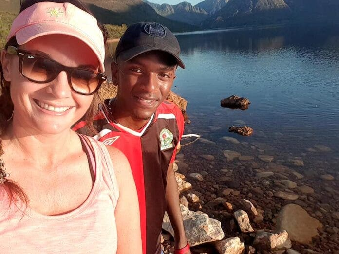 adrienne and themba
