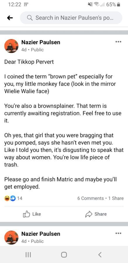 brown pet eff comment