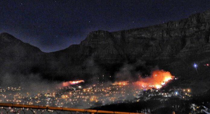 fire table mountain