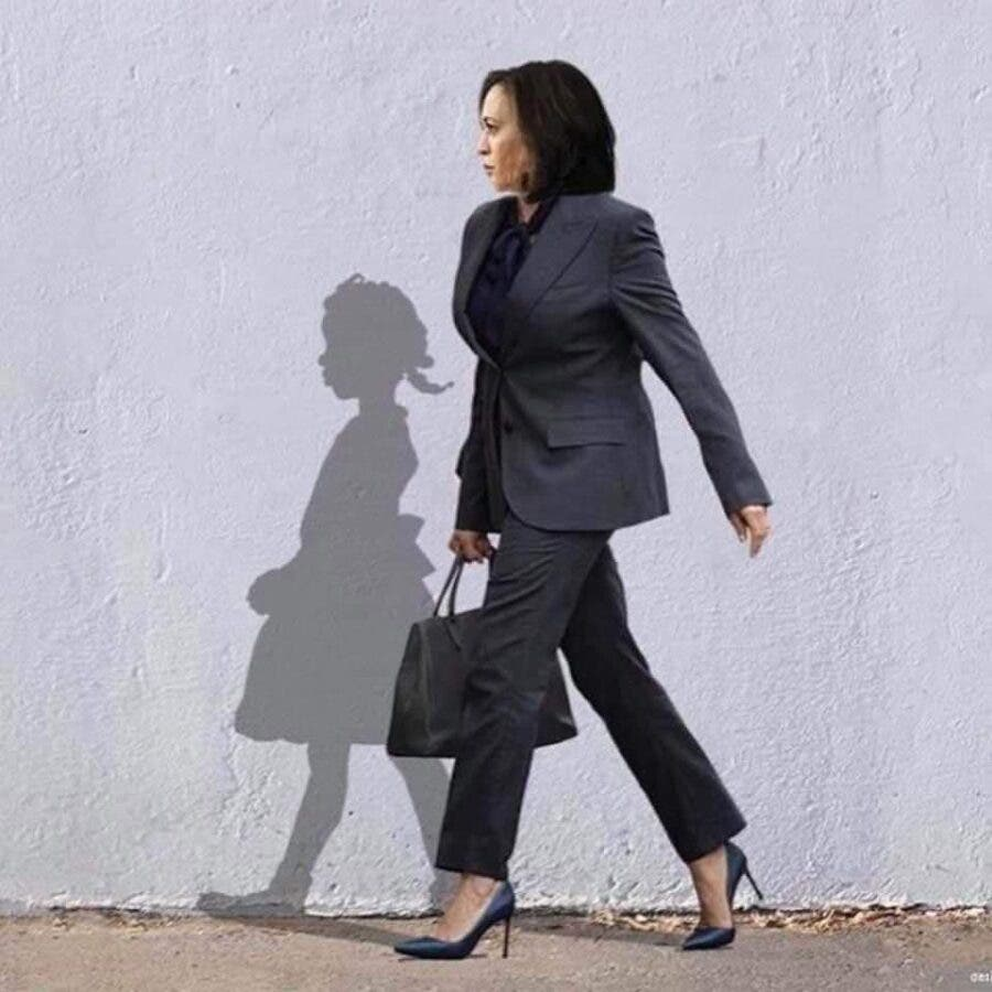 Story Behind Viral Photo of Kamala Harris and Shadow - SAPeople - Your  Worldwide South African Community