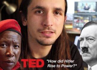 EFF Julius Malema vs hitlet
