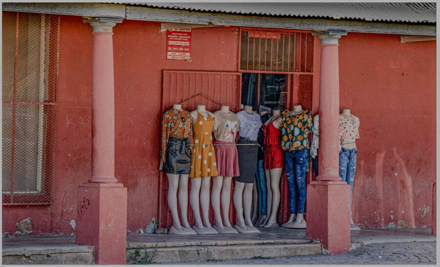mannequins small town south africa