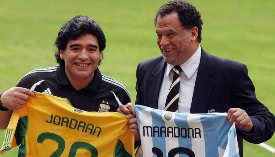 Maradona in South Africa