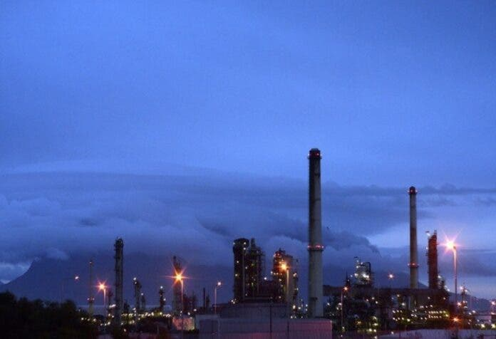 milnerton refinery, city of cape town south africa