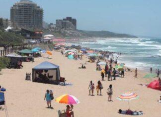 KZN Beaches face closure South Africa Covid