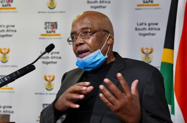 Minister of Home Affairs, Dr Aaron Motsoaledi