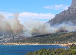 bakoven fire wildfire cape town