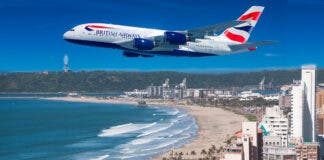 British Airways Suspends Direct Flights Between London and Durban
