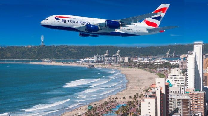 British Airways Suspends Direct Flights Between London and Durban