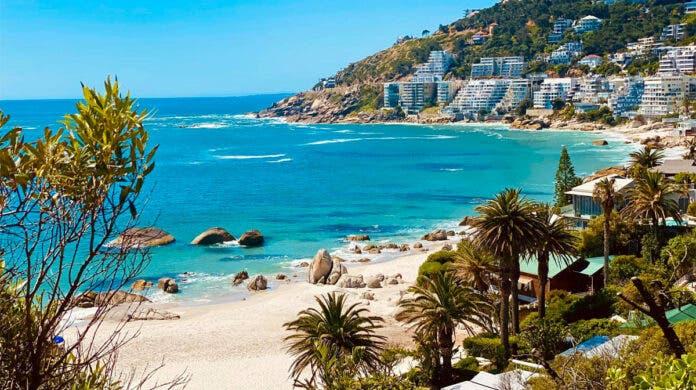 Cape Town beach, South Africa