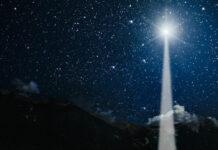 Christmas Star of Bethlehem Jupiter and Saturn