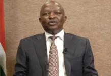 David Mabuza South African deputy president christmas message