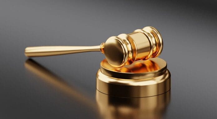 gavel sentencing court Brian Albertus Baumann
