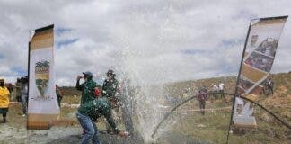 Gift of the Givers borehole water Eastern Cape