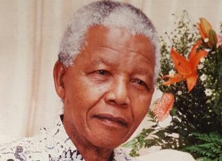 A note honouring Zelda la Grange, from Nelson Mandela.