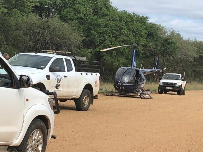 rhino poachers shoot out