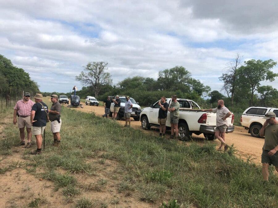 rhino poachers shootout