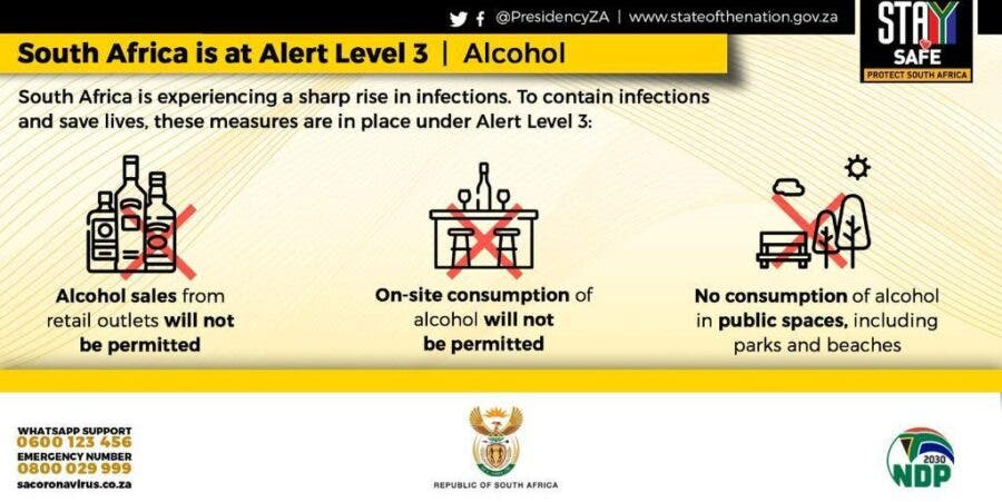 south africa alert level 3