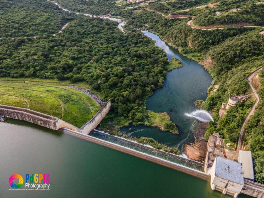 inanda dam overflows kzn