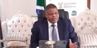 Deputy Minister of Water and Sanitation, Mr David Mahlobo has tested positive for Covid-19