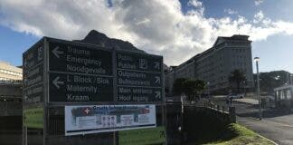 Groote Schuur Hospital alcohol ban