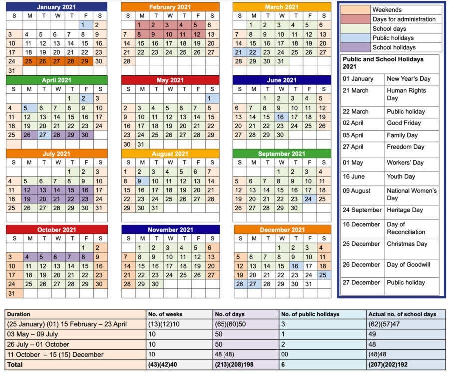South-African-school-agenda-calendar-update