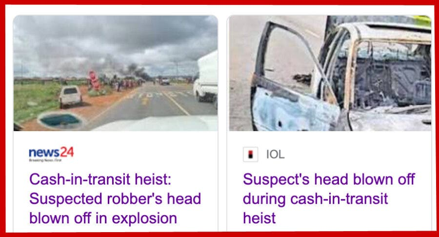 cash-in-transit-heist-head-blown-off headlines