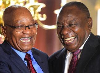 Jacob Zuma and Cyril Ramaphosa ANAGate SSA ANA DA resign Zondo