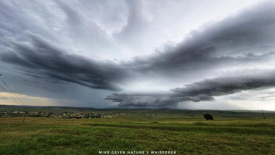 Eastern Cape, South Africa mthatha storm clouds