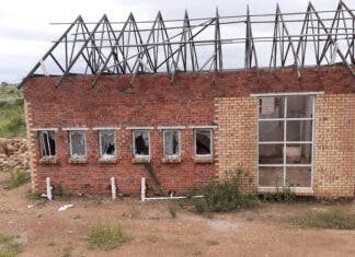 The Maila village old-age home as of 25 January 2021. Photo: Limpopo Mirror