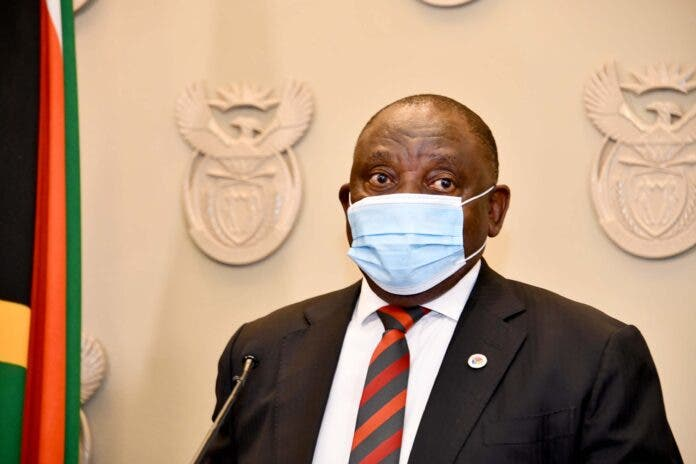 president cyril ramaphosa address nation or not
