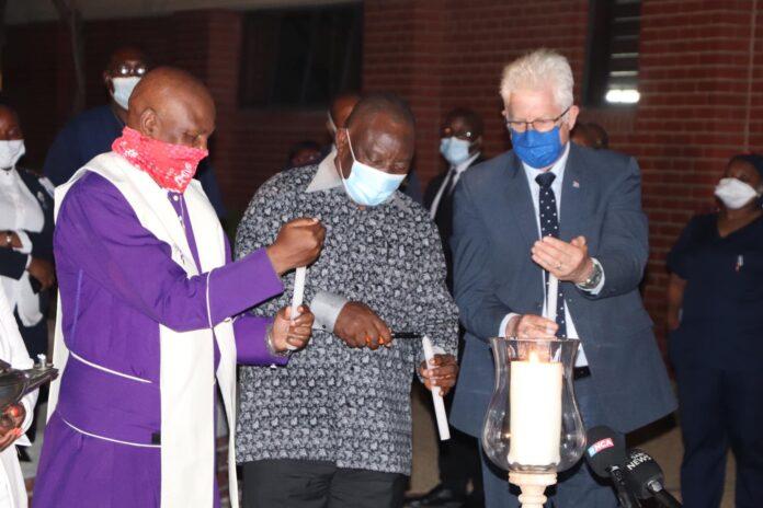 light candle khayelitsha
