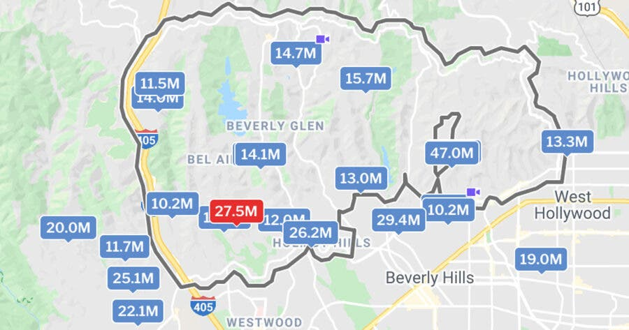 Trevor Noah's LA neighbourhood