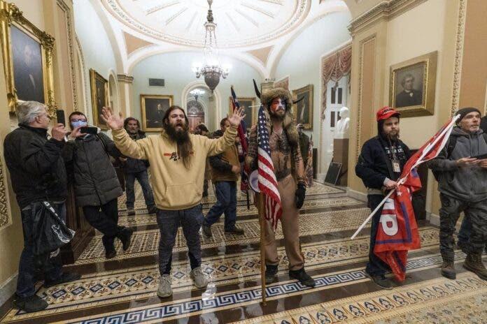 trump supporters capitol hill