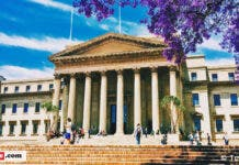 Wits University. South African unis delay opening