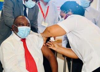 President Ramaphosa vaccine South Africa