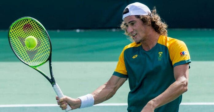 loyd Harris Through to Third Round of Australian Open With 5-Set Thriller