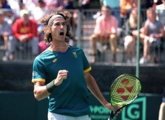 Lloyd Harris Australian Open into Second Round