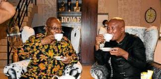 Who Paid for Zuma and Malema's Nkandla Tea Party?